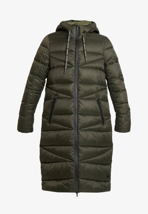 COAT QUILTED PUFFER 2IN1 OPTIC - Zimní kabát - action green