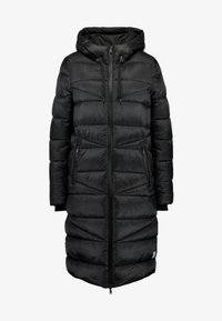 Marc O'Polo DENIM - COAT QUILTED PUFFER 2IN1 OPTIC - Cappotto invernale - black - 4