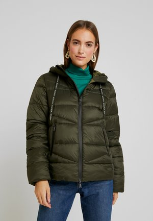 JACKET QUILTED PUFFER OPTIC - Winter jacket - action green