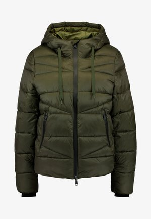 JACKET QUILTED PUFFER OPTIC - Veste d'hiver - action green