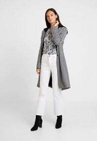 Marc O'Polo DENIM - COAT PEPITA DETACHABLE HOOD - Classic coat - woven combo