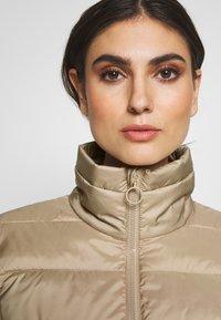 Marc O'Polo DENIM - LIGHT FAKE ZIPPER ZIPPER - Light jacket - nordic beige - 5
