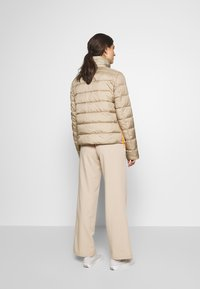 Marc O'Polo DENIM - LIGHT FAKE ZIPPER ZIPPER - Light jacket - nordic beige - 2