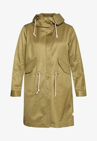 Marc O'Polo DENIM - OVERSIZED SPECIAL HOOD SPECIAL DRAWSTRING - Parka - bleached olive - 4
