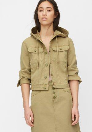 VESTE EN JEAN - Denim jacket - green