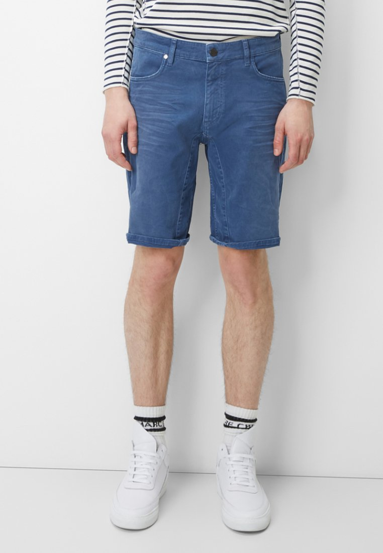 Marc O'Polo DENIM - MATS  - Jeans Shorts - blue