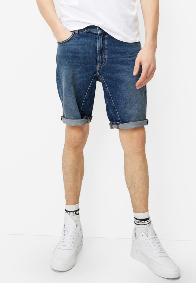 Marc O'Polo DENIM - Denim shorts - blue