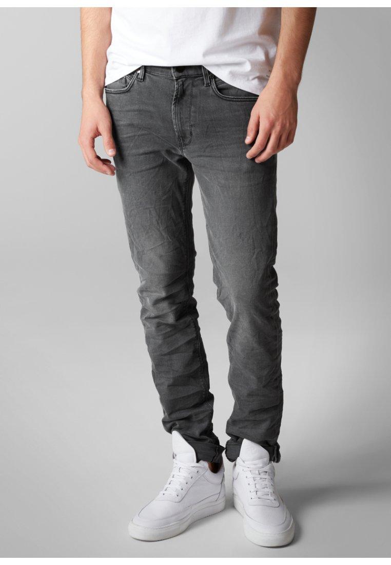 Marc O'Polo DENIM - Jeans Straight Leg - gray