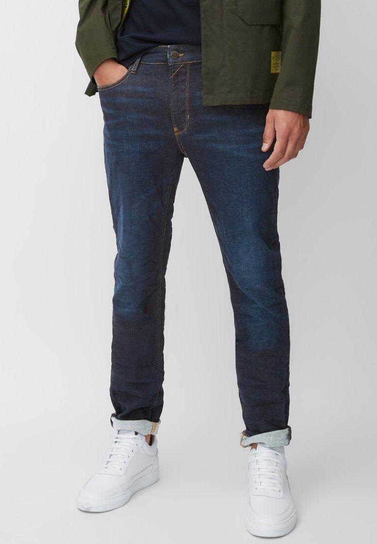 Marc O'Polo DENIM - VIDAR  - Straight leg jeans - blue