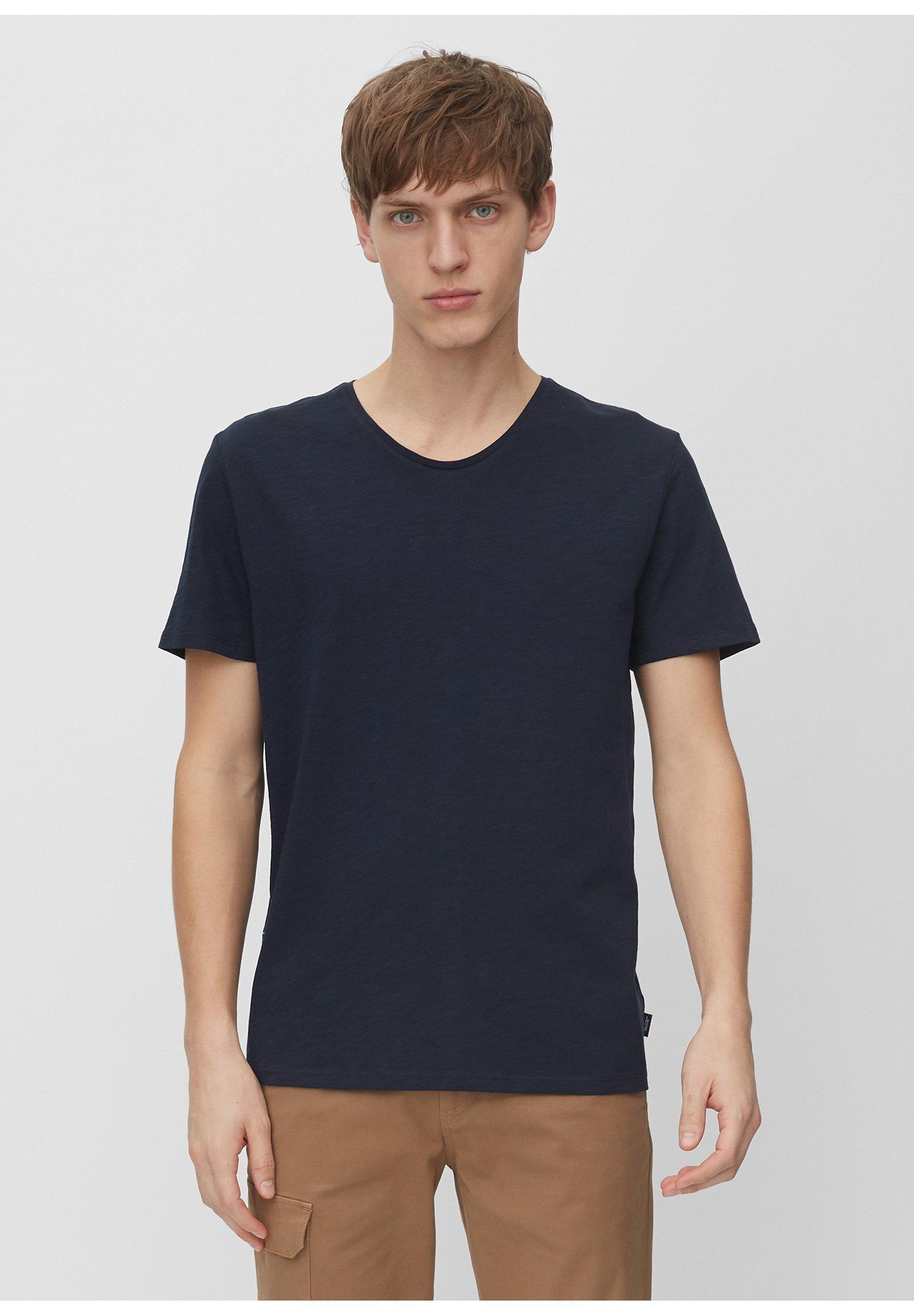 Marc O'Polo DENIM MARC O'POLO DENIM T-SHIRT AUS ORGANIC COTTON-SLUB-JERSEY - T-shirt basic - scandinavian blue