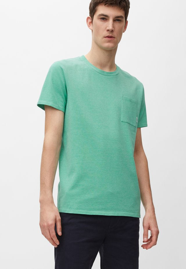 Basic T-shirt - underwater green