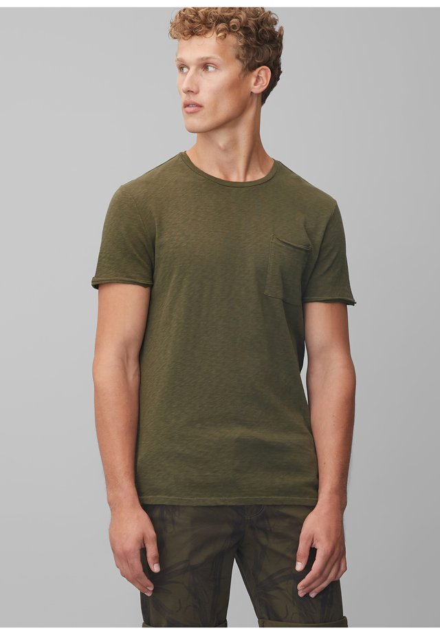 Basic T-shirt - palm leaf green