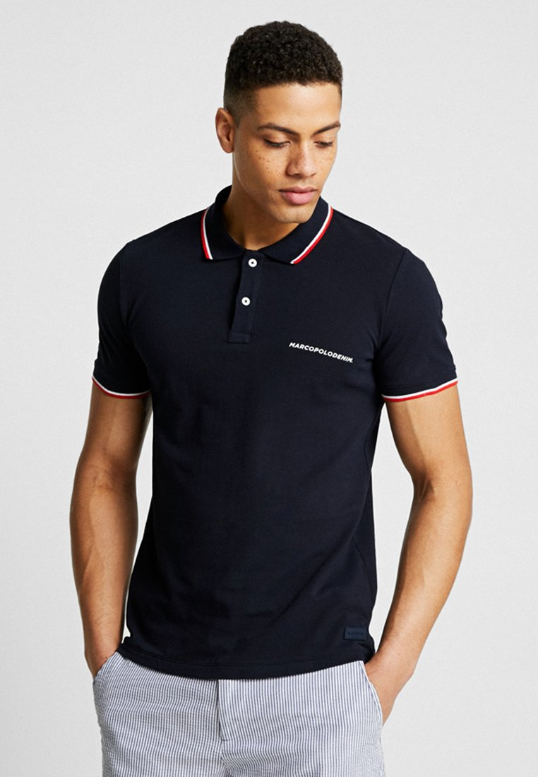 Marc O'Polo DENIM - SHORT SLEEVE - Polo - blue night sky