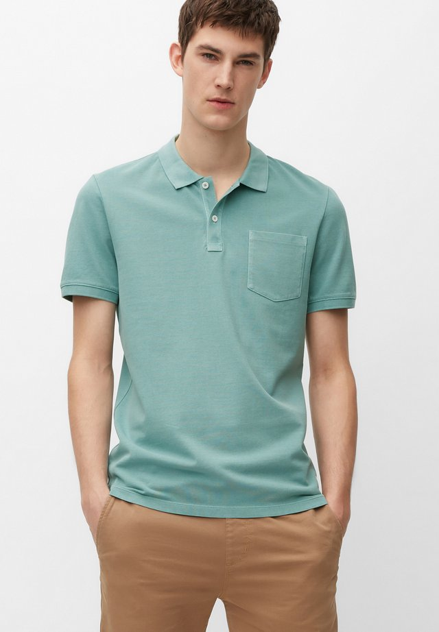 Polo shirt - milky mint