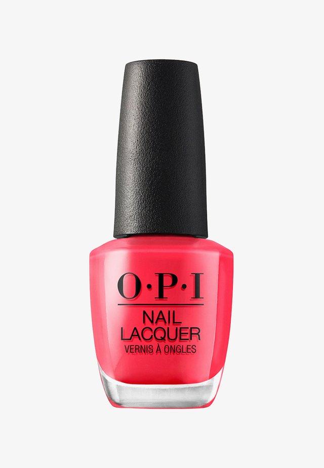 NAIL LACQUER - Nail polish - nlb 76 opi on collins ave