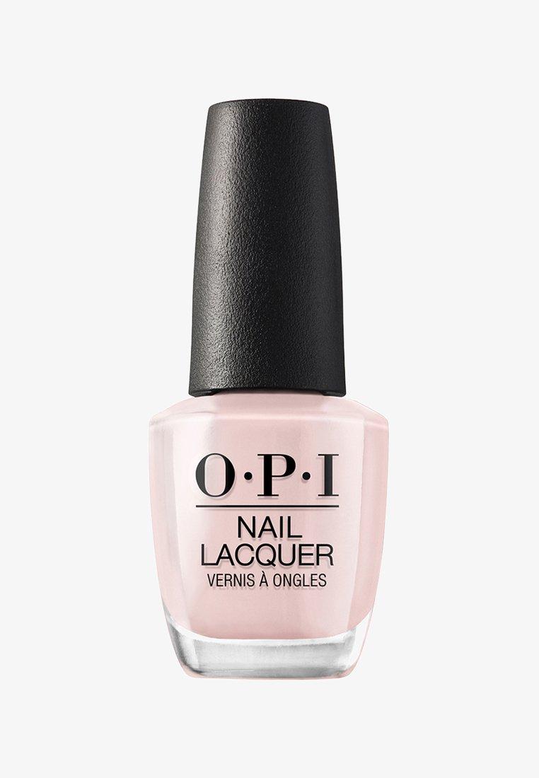 OPI - NAIL LACQUER 15ML - Nail polish - nlg 20 my very first knockwurst