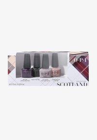 OPI - SCOTLAND COLLECTION NAIL LACQUER MINI SET - Nail set - dcu01 - good girls gone plaid 4er mini set - 0