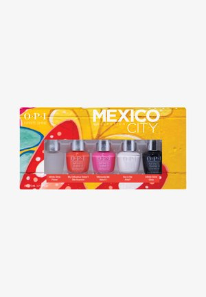 INFINITE SHINE NAIL POLISH 5ER MINI SET MEXICO COLLECTION - Nagelpflege-Set - my chihuahua doesn't bite anymore, telenovela me about it, hue is the artist?