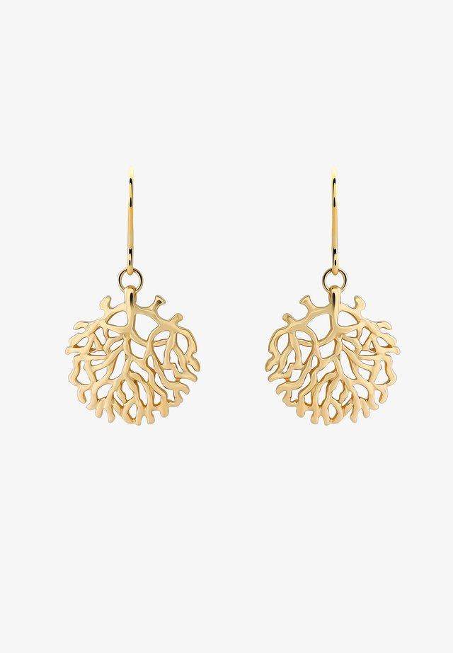SALOME - Earrings - gold-coloured