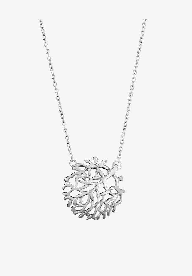 RONALDINE - Necklace - silver-coloured