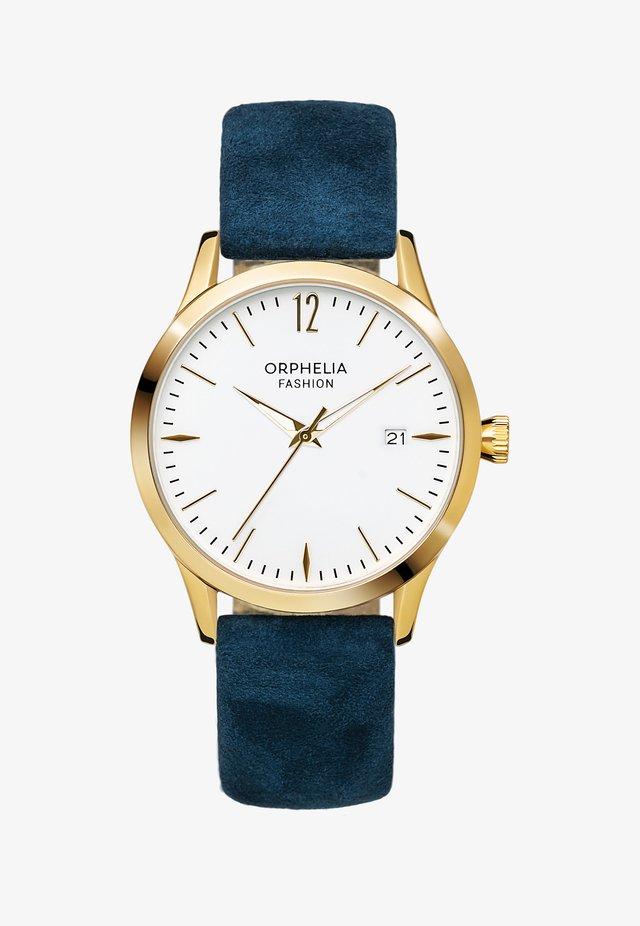 SUEDE - Horloge - blue