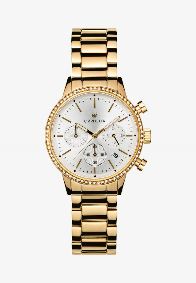 SUNRAY - Chronograph watch - gold-coloured