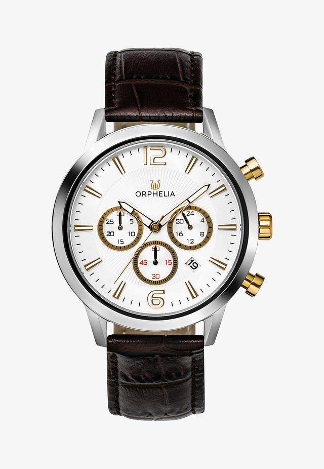 TEMPO - Chronograph watch - brown