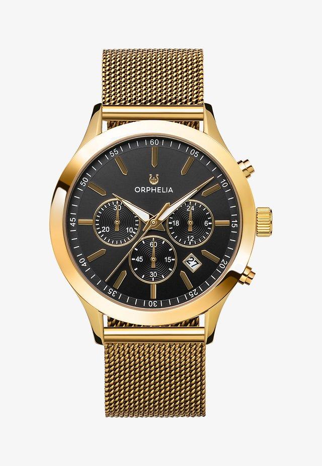 HARMONY - Chronograph watch - gold-coloured