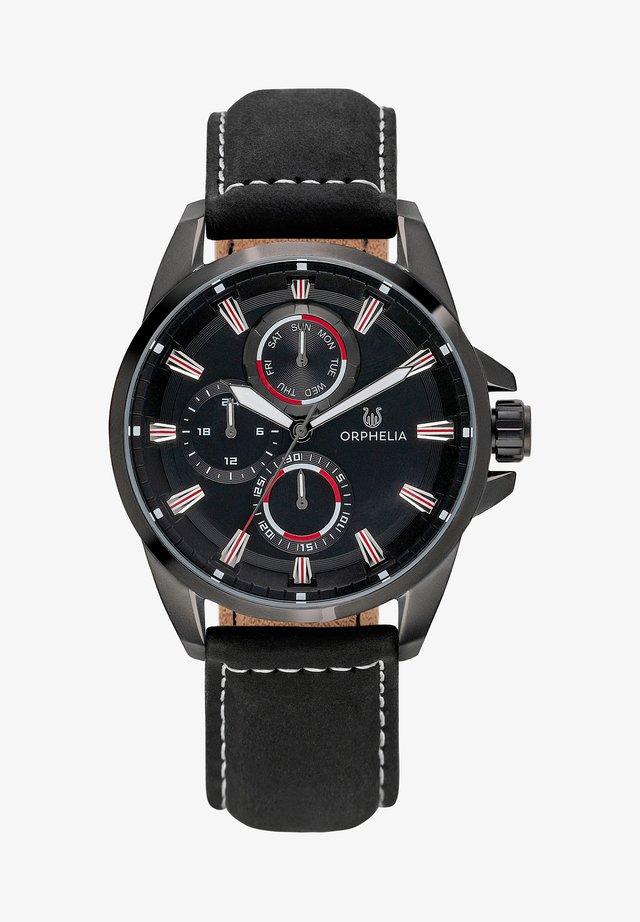 EDDINGTON - Chronograph watch - black