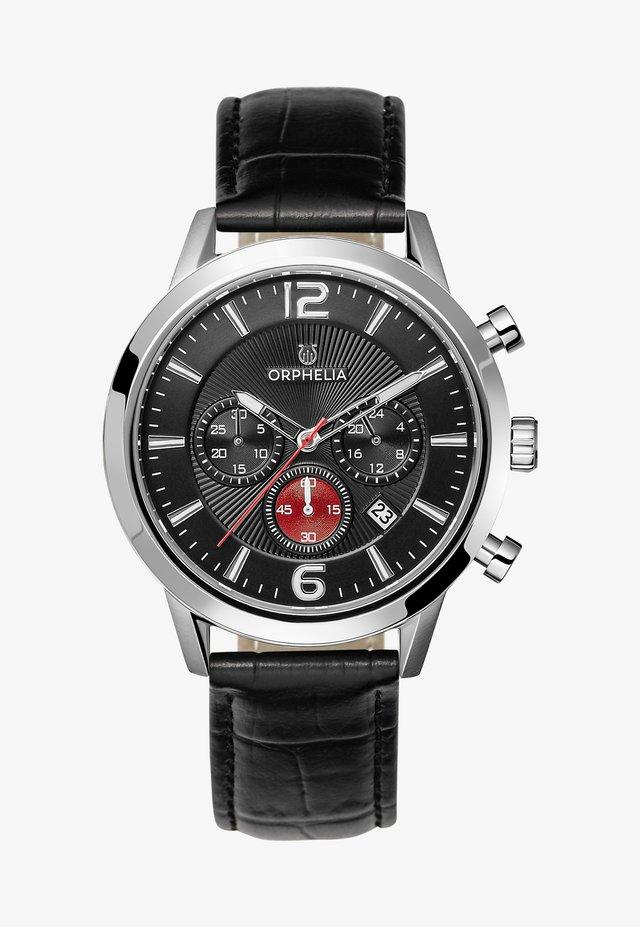 TEMPO - Chronograph watch - black