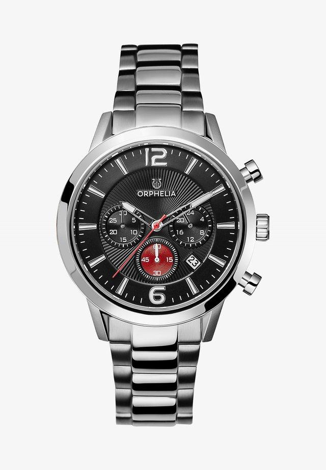 TEMPO - Chronograph watch - silver-coloured