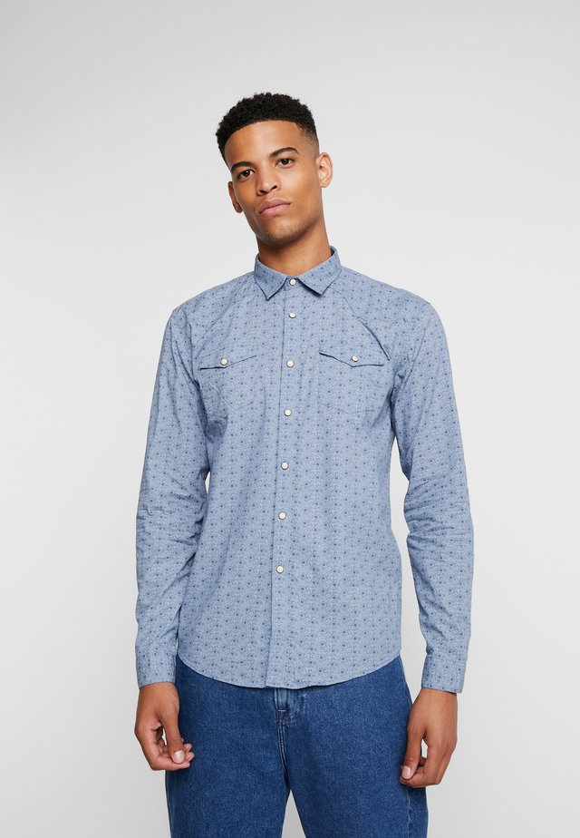 WESTERN  - Shirt - light blue