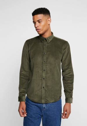 WASHED CORDUROY  - Shirt - army