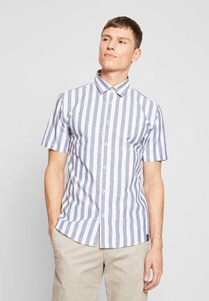 STRIPED SLUB - Košile - blue