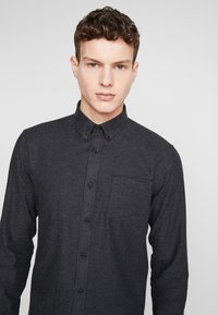 Shine Original - TWILL SHIRT  - Camicia - black - 3