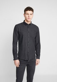 Shine Original - TWILL SHIRT  - Camicia - black - 0