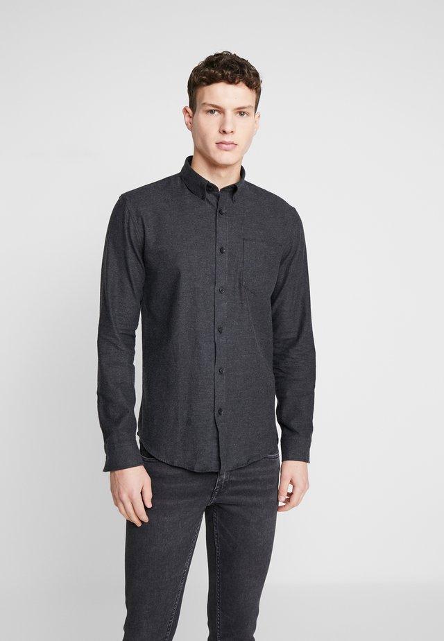 TWILL SHIRT  - Shirt - black