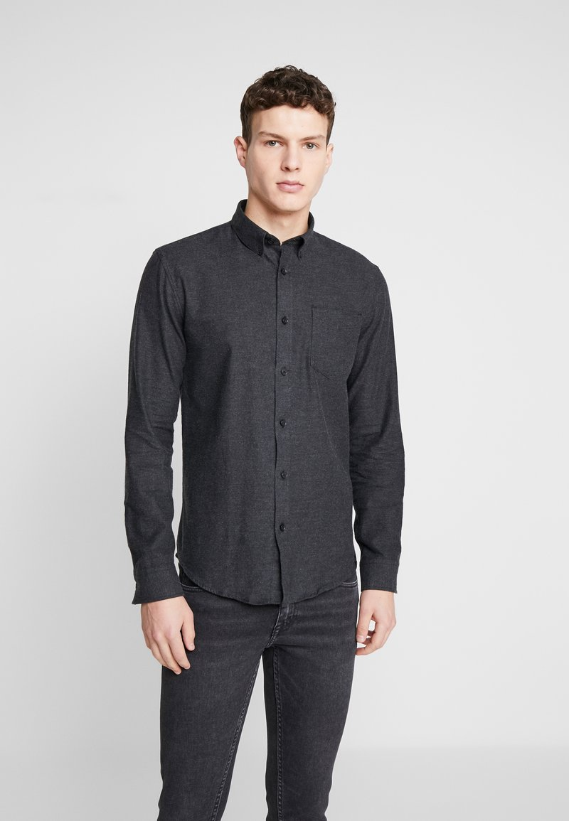 Shine Original - TWILL SHIRT  - Camicia - black