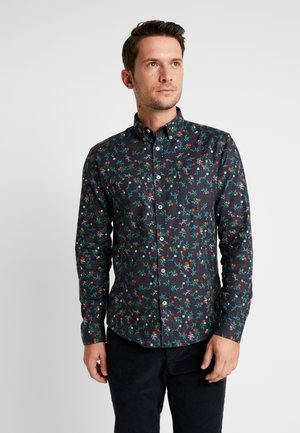 FLORAL SHIRT  - Chemise - navy
