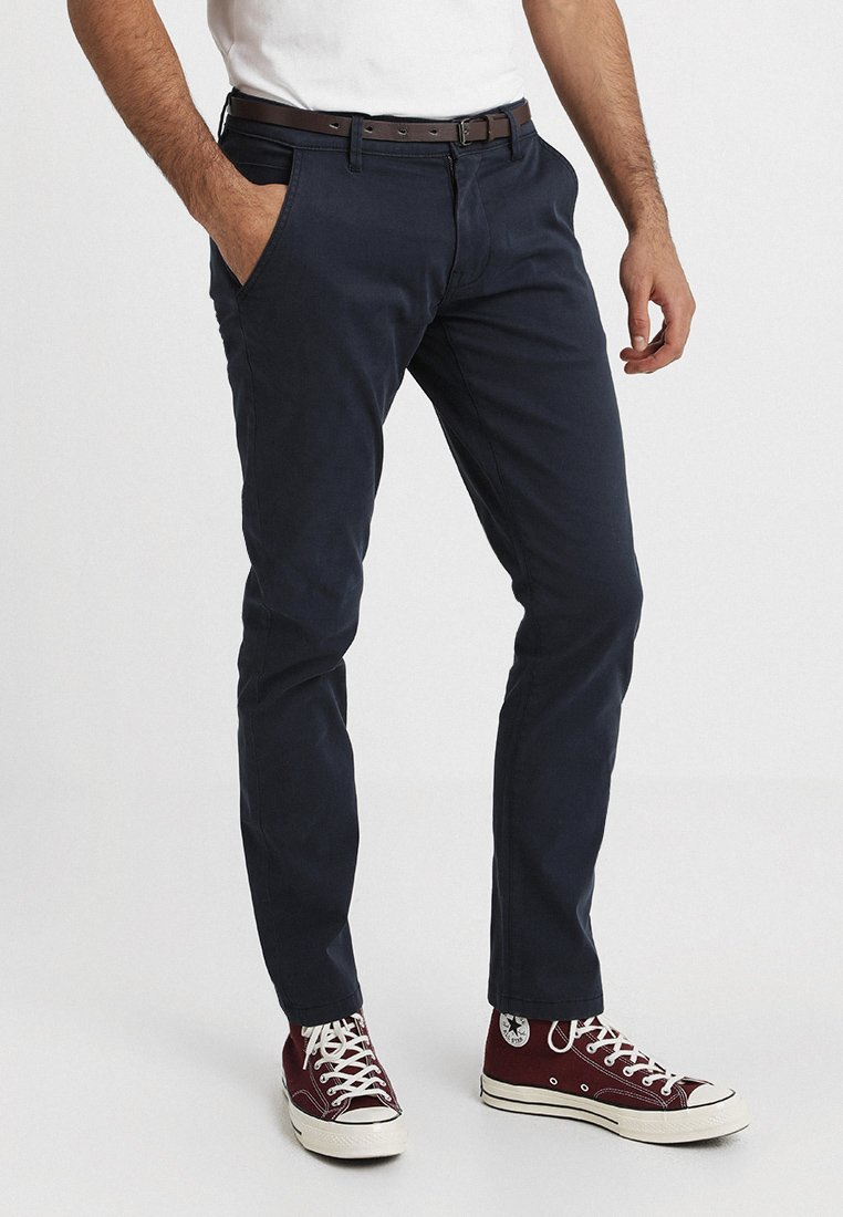 Shine Original - MENS STRETCH  - Trousers - navy