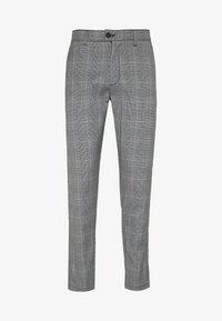 Shine Original - CHECKED CLUB TROUSERS - Pantaloni - grey - 0