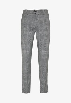 CHECKED CLUB TROUSERS - Bukser - grey