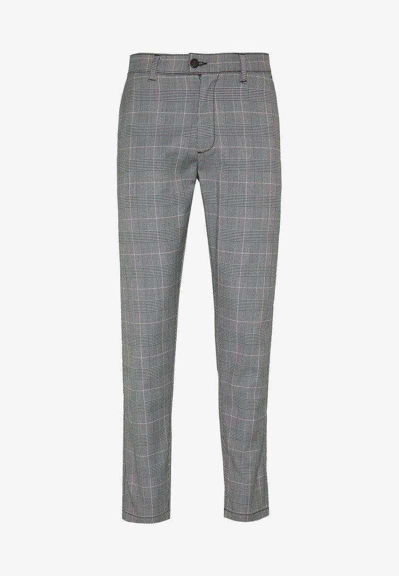 Shine Original - CHECKED CLUB TROUSERS - Pantaloni - grey