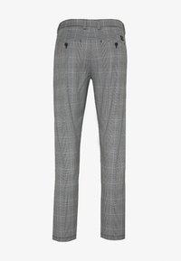 Shine Original - CHECKED CLUB TROUSERS - Pantaloni - grey - 1