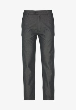 DOBBY CLUB TROUSERS - Trousers - grey