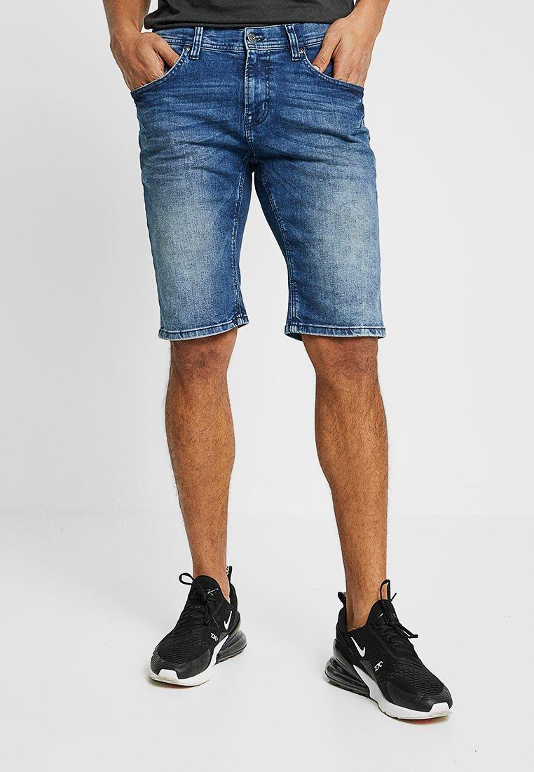 Shine Original - Denim shorts - ocean indigo