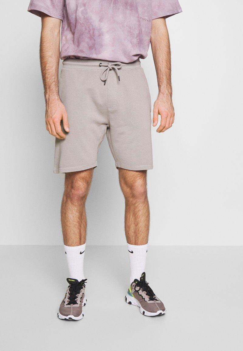 Shine Original - GARMENT DYED - Teplákové kalhoty - light grey