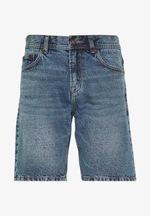 RIGID - Denim shorts - blue