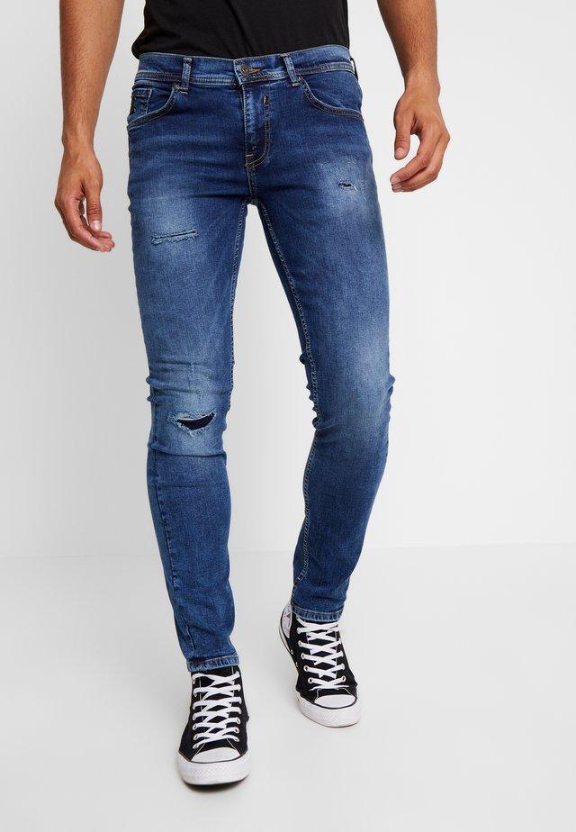Slim fit -farkut - blue dust