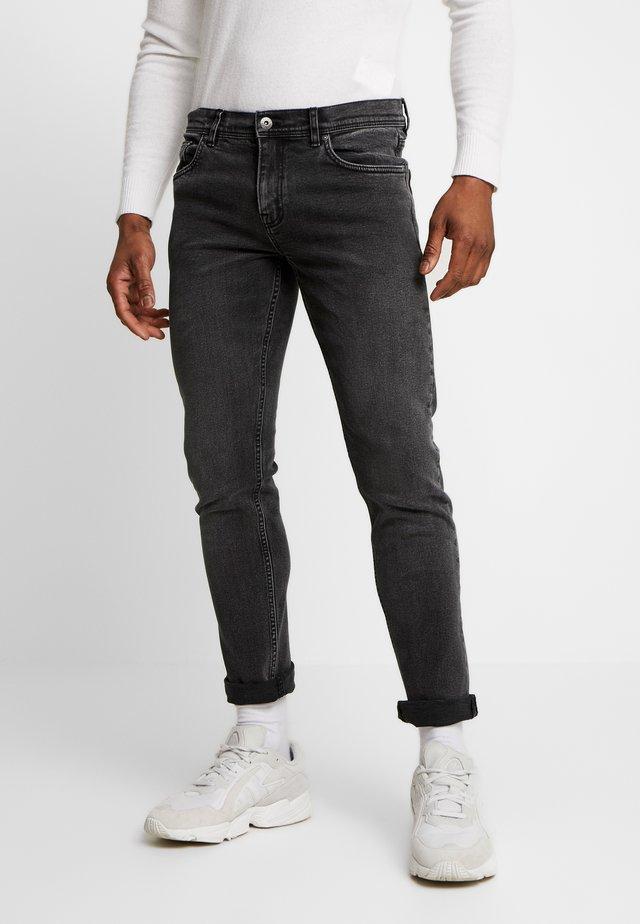 Slim fit jeans - black stonewash
